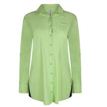 Groen met blauwe blouse Bonny