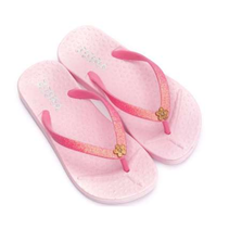 Lichtroze slipper