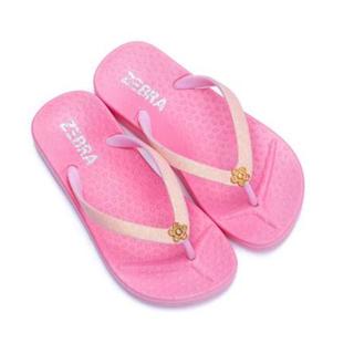 Roze slipper