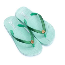 Mintgroene slipper