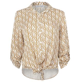 Wit geprinte blouse 9014205