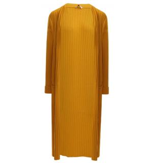 Honinggeel vest Knitted 9073300