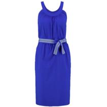 Bright blue jurk Carlijn