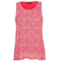 Rood geprinte blouse Memfia