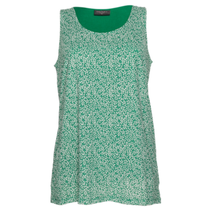 Groen geprinte blouse Memfia