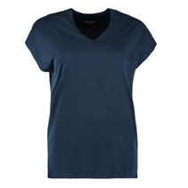 Blauwe blouse Yr-V