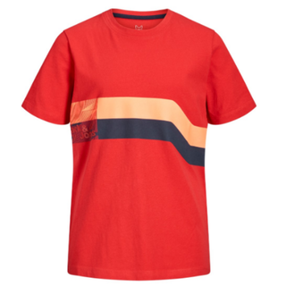 Rood t-shirt Stairs
