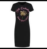 NIKKIE Zwarte jurk Exotic Destination