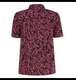 NIKKIE Zwart geprinte blouse Sandy