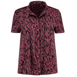 Zwart geprinte blouse Sandy