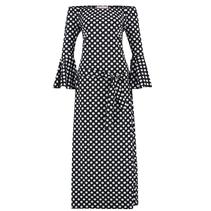Zwart met witte jurk Saturday Dot