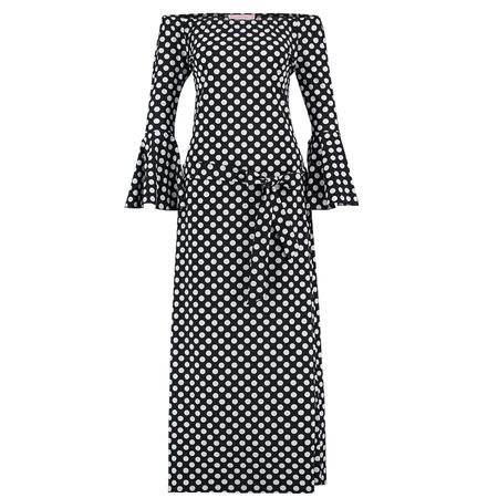 Studio Anneloes Zwart met witte jurk Saturday Dot