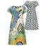 Lizzy & Coco Geprinte reversibel jurk Cin