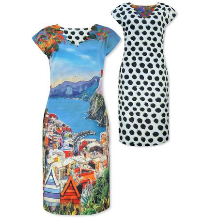 Lizzy & Coco Vernazza reversibel jurk Cameo