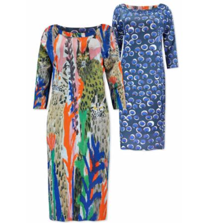 Lizzy & Coco Geprinte reversibel jurk Cliff