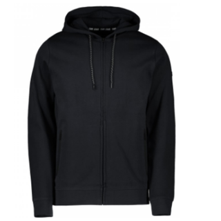 Zwarte Hood Sweat Iscar