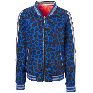 Kobaltblauwe jacket Valynn