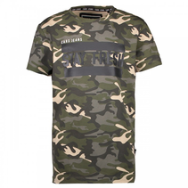 Camouflage t-shirt Enzo
