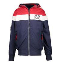 Blauwe jacket Brash