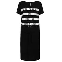 Zwart geprinte jurk Cote