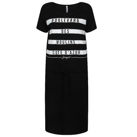 ZOSO Zwart geprinte jurk Cote