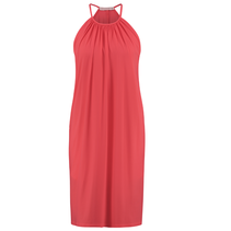 Koraalroze jurk Carla