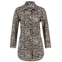 Luipaard geprinte blouse Poppy