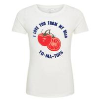 Wit t-shirt Dakota