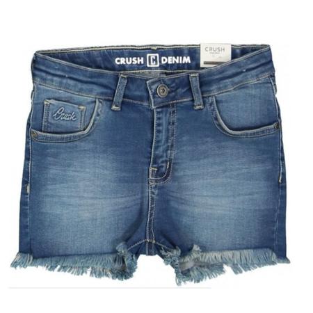 Crush Denim Blauwe short Daisy