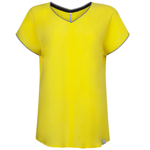 Geel piping t-shirt Esther