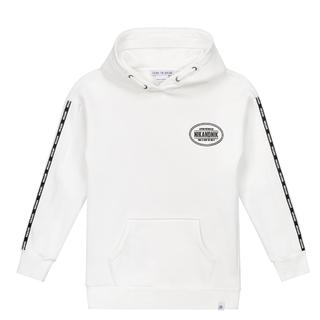 Witte hoodie How We Do