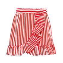 Rood gestreepte rok Kaya