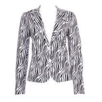 Witte blazer Zebra K09-2
