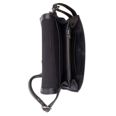 Cowboysbag Zwarte fanny pack Morro