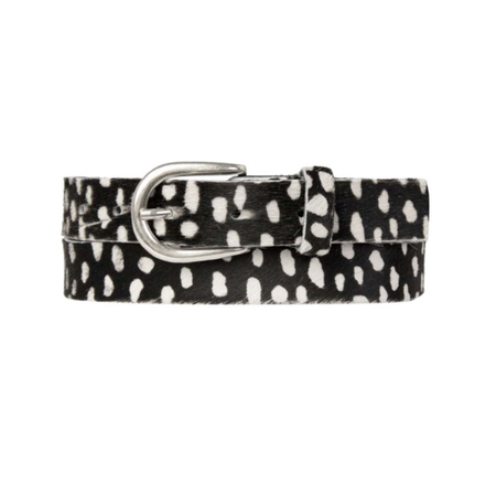 Cowboysbag Zwart geprinte riem 259136
