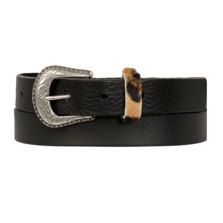 Cowboysbag Zwarte riem 259135