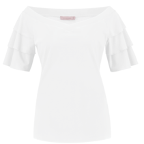 Witte top Riva