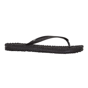 Zwarte slippers Cheerful