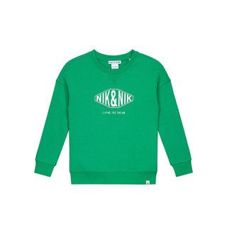 Groene sweater Living The Dream