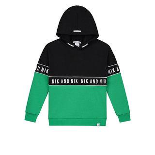 Groene hoodie Marvus