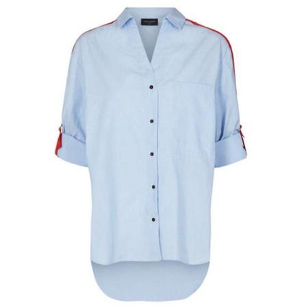 Freequent Blauwe blouse Lora