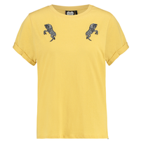 Geel t-shirt Wild Zebra