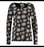 L.O.E.S Zwart geprinte sweater Birck