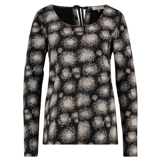 Zwart geprinte sweater Birck