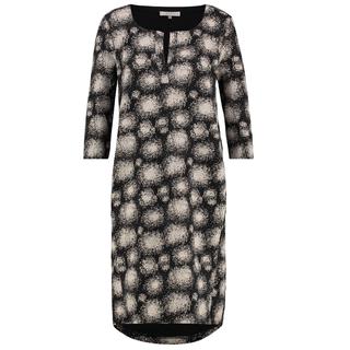 Zwart geprinte jurk Mimosa