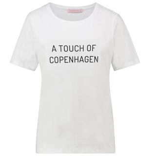 Wit t-shirt Alize Copenhagen