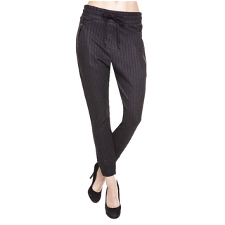 Zwartgrijze broek Fabia