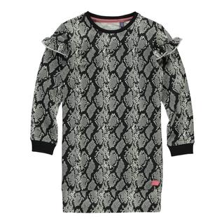 Snake geprinte jurk Tade