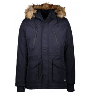 Donkerblauwe jas Demsey