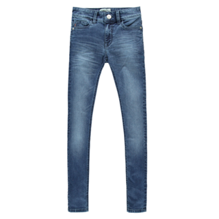 Donkerblauwe jeans Nesly